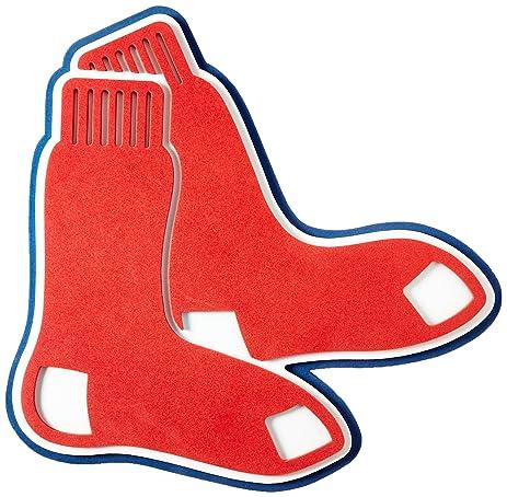 amazon com foam fanatics boston red sox foam socks logo sign rh amazon com