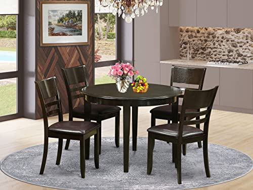 East West Furniture Small Kitchen Table Set 5 Piece