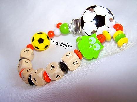 Chupete Cadena, nombre, búho, Fútbol, Fútbol, multicolor ...
