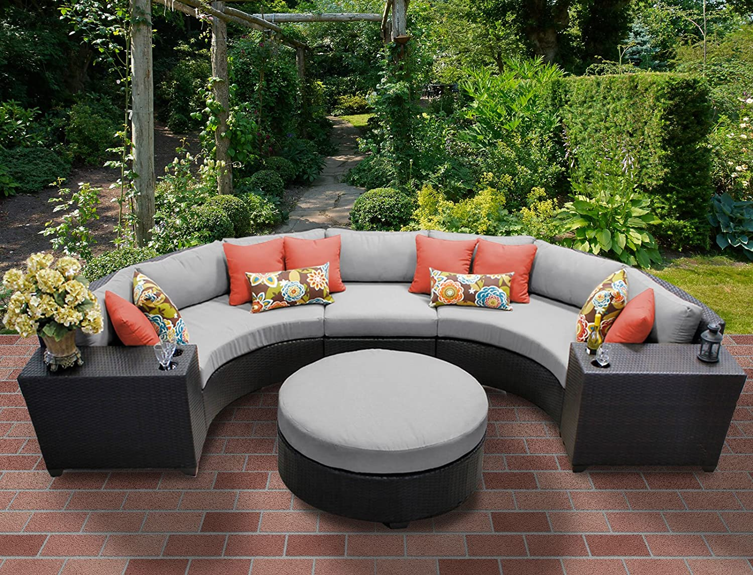 and endless cushions furniture pavers patio design warm set tk for outdoor with wicker classics