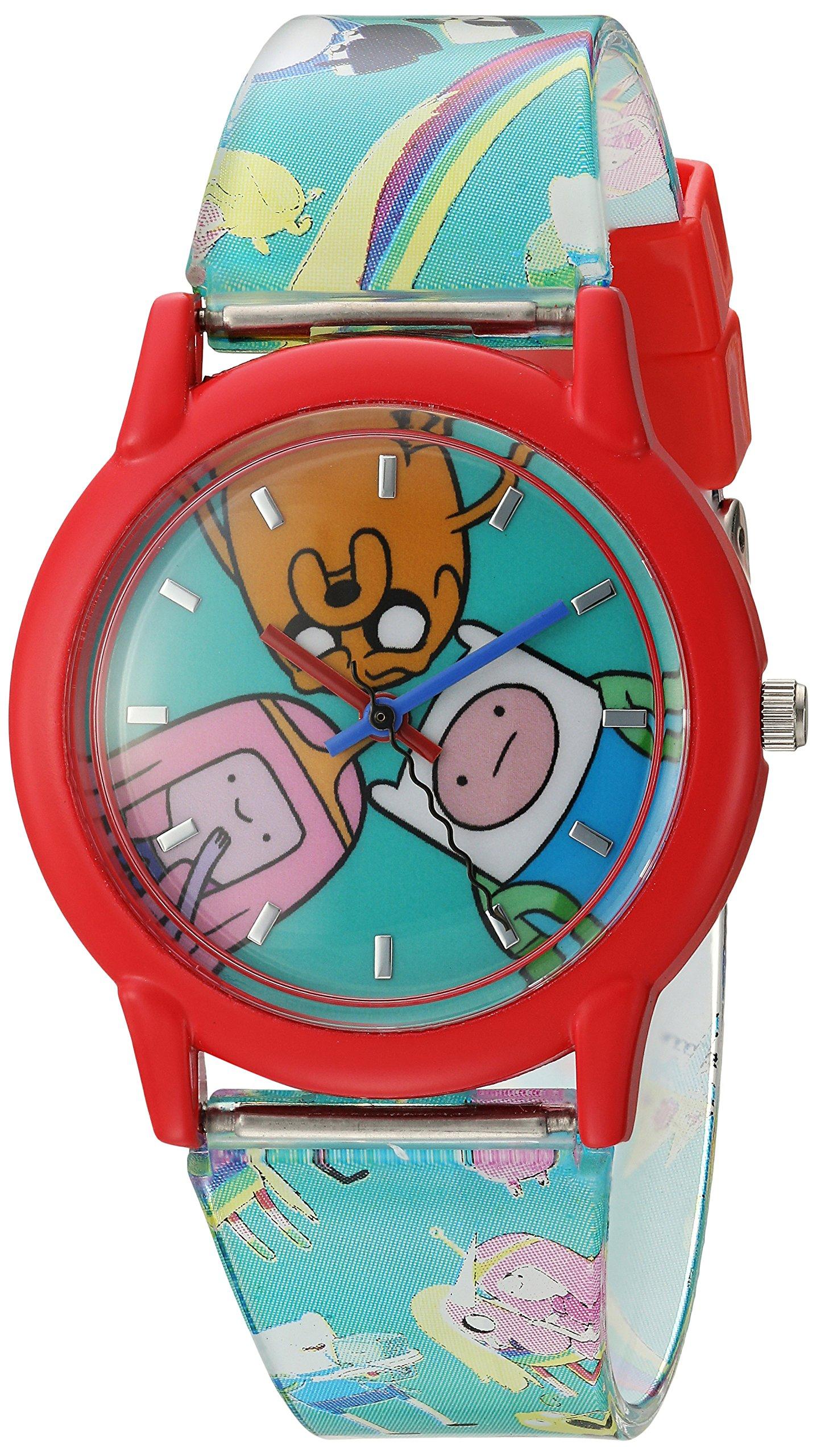 Adventure Time Kids' ATW001-RE Finn Jake Princess Bubblegum Watch