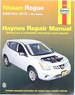 nissan rogue 2008 thru 2015 all model haynes repair manual rh amazon com 2008 nissan rogue service manual pdf free 2008 nissan rogue repair manual