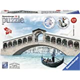 Ravensburger - 12518 - Puzzle - 3D - 216 Pièces - Pont de Rialto