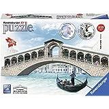 Ravensburger Italy - Ponte di Rialto Puzzle, 3D Building, 12518