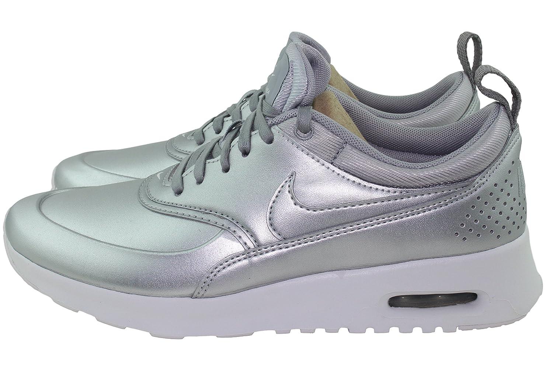 wholesale dealer ca0c8 c677d Amazon.com   Nike Air Max Thea SE Womens Metallic Silver 861674-001 (10)    Shoes