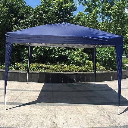 Kinbor 10u0027x10u0027 Canopy Wedding Party Tent Heavy Duty Outdoor Gazebo White/Blue & Amazon.com : Kinbor 10u0027x10u0027 Canopy Wedding Party Tent Heavy Duty ...