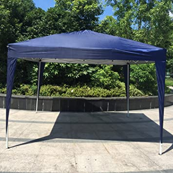Amazon.com  Kinbor 10u0027x10u0027 Canopy Wedding Party Tent Heavy Duty Outdoor Gazebo White/Blue (Blue)  Sports u0026 Outdoors : heavy duty canopy - memphite.com