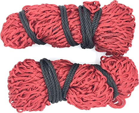 """Shires Deluxe Strong Ringed Top Haynet With Base Ring For Easy Fill Size 40/"""""""