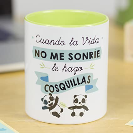Amazon.com | La Mente es Maravillosa | Taza cerámica de café ...