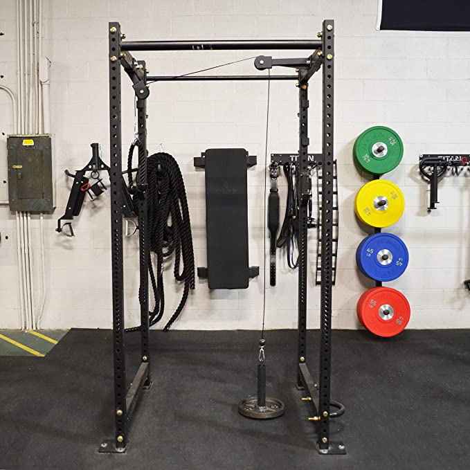 Amazon.com : titan tricep and lat pulley system for t 3 : sports
