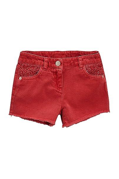 next Niñas Pantalones Cortos con Detalle De Croché (3-16 Años) Rojo 13