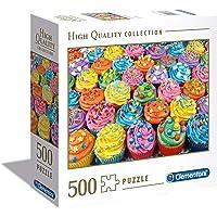 Clementoni - 97634 - Yetişkin Puzzle - Cupcake - 500 Parça