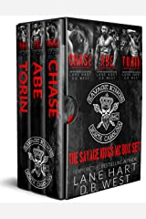 Savage Kings MC Box Set: Books 1-3 Kindle Edition