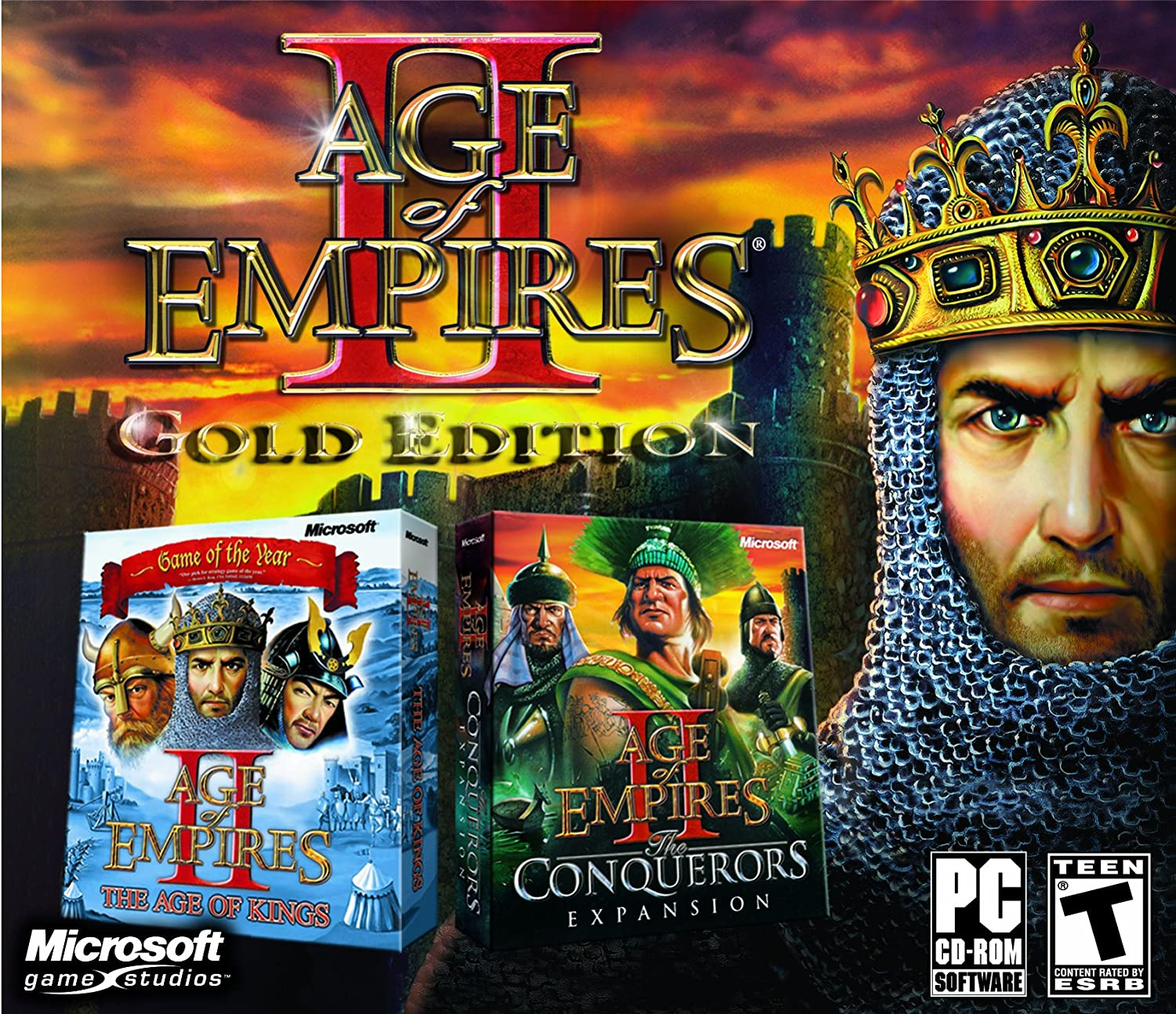 Age Of Empires 2 Gold Edition Pc Video Games