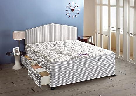 Airsprung Beds Ortho Master abierto Bobina de colchón con joyero de pequeño Juego de diván,