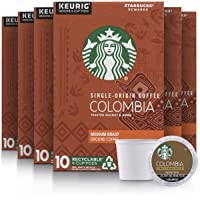 Deals on 60-Count Starbucks Medium Roast K-Cup Coffee Pods Colombia