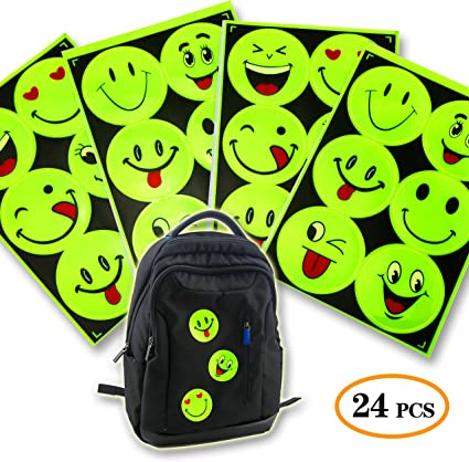 Outdoor Reflective Stickers Baby Kids Night Safety Reflector Decal for Bag Bikes