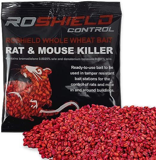 Strongest Available Online PRIME Roshield 1kg Mouse /& Rat Poison Killer Pasta Sachets