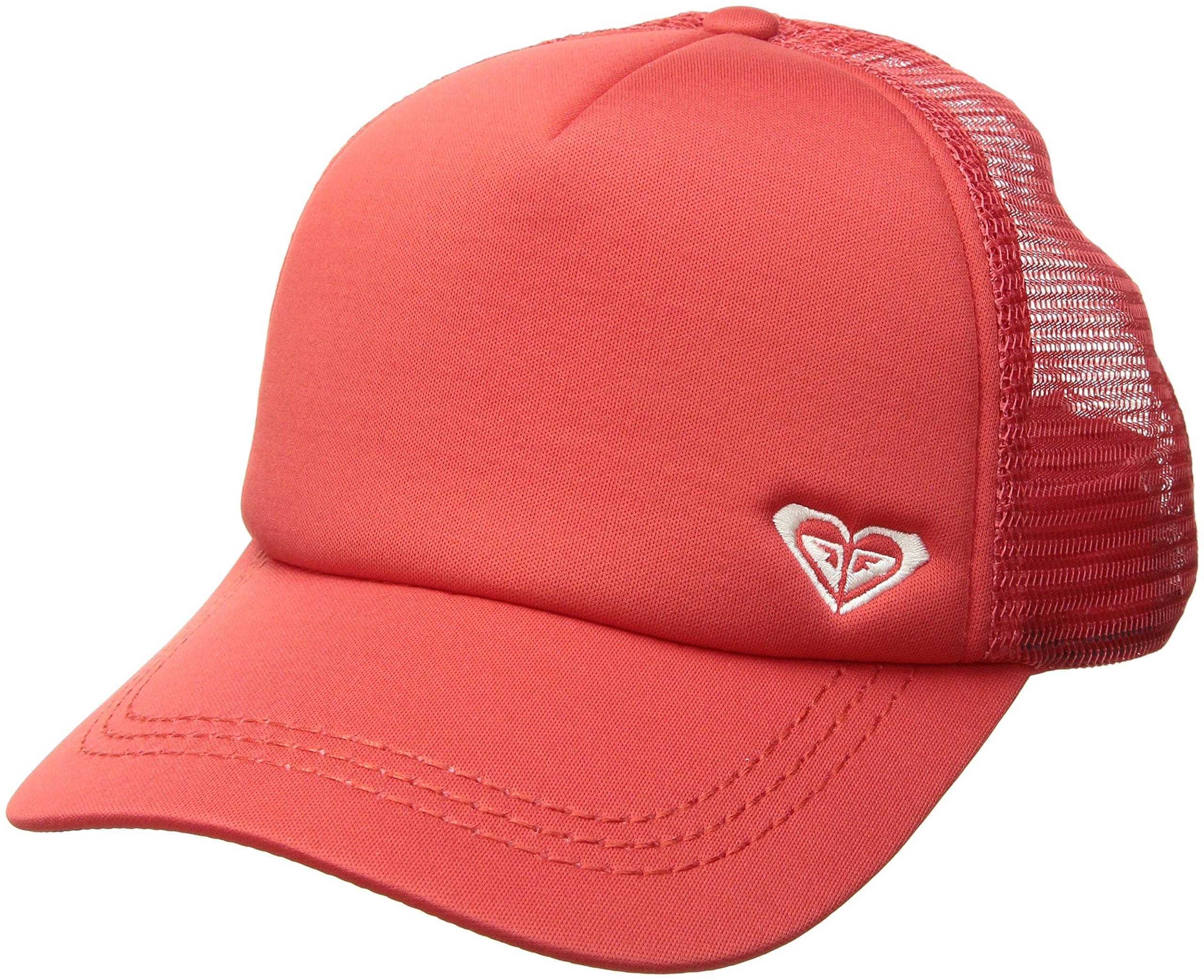 Roxy Women's Finishline Trucker Hat, Teaberry ERJHA03320, 1SZ
