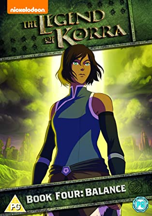 Amazon.com: Legend of Korra - Book Four: Balance [DVD] [2014 ...