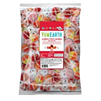 YumEarth Organic Fruit Hard Candy, Assorted Flavors, 4.25 lb - Allergy Friendly, Non GMO, Gluten Free, Vegan (Packaging May Vary)
