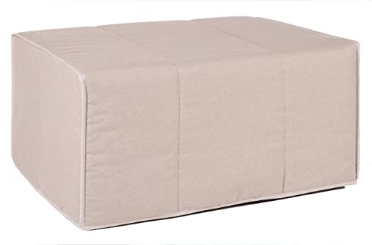 Quality Mobles Patrick Letto singolo pieghevole, 80 x 180 cm 80 x 180 cm  Sabbia