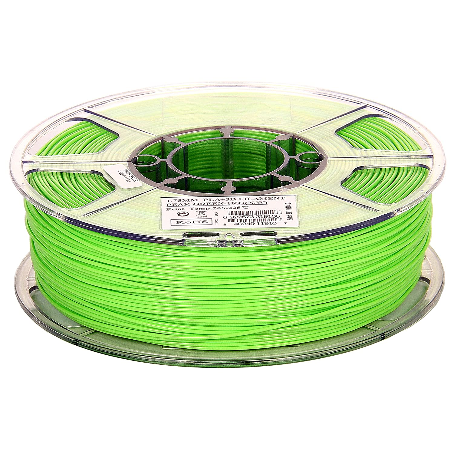 3d Printer Filament Go 3d Abs Peak Green A Complete Range Of Specifications