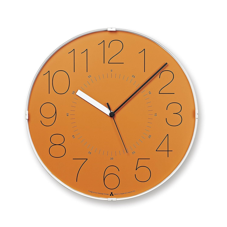 Lemnos CARA 電波時計 オレンジ AWA13-08 B00H8LJR4O
