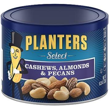 Amazon.com: Planters Select Mixed Nuts, 8.25 Ounce Canister: Prime on amazon home, amazon hammocks, amazon fire pits, amazon wall art, amazon lamps,