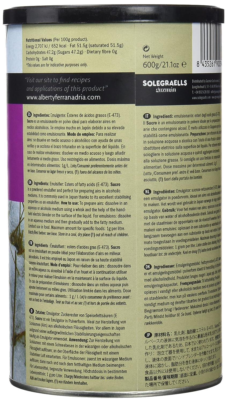 Albert y Ferran Adrià Textura Sucro - 600 gr: Amazon.es: Alimentación y bebidas