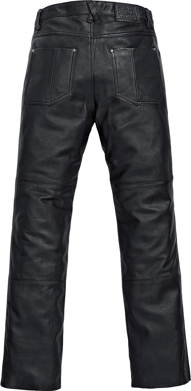 Spirit Motors Motorrad Jeans Motorradhose Motorradjeans Klassik Lederhose 1.0 Herren Chopper//Cruiser Sommer