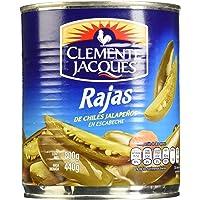 Clemente Jacques, Chiles Jalapeños en rajas, 800 gramos