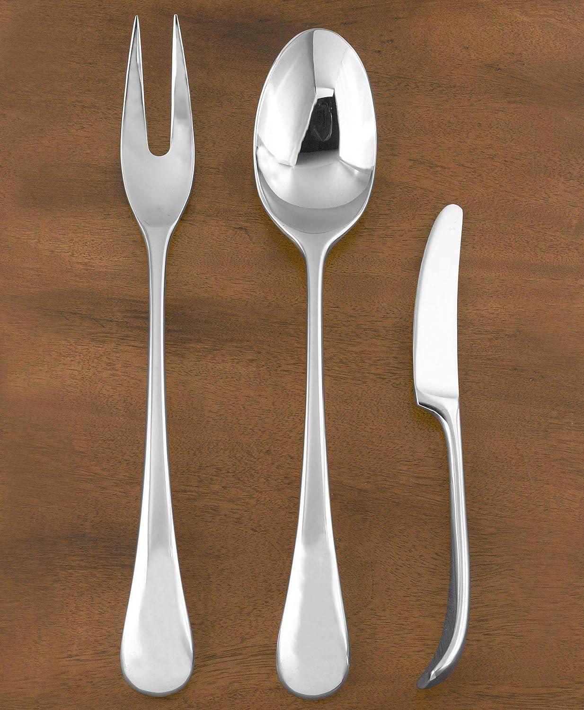 amazoncom  dansk torun stainlesssteel dinner fork flatware sets -