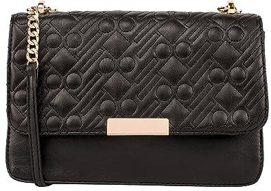 ec03c74f3 Dot Dash Crossbody Bags for Women - Shoulder Bags with Gold Chain (Black):  Handbags: Amazon.com