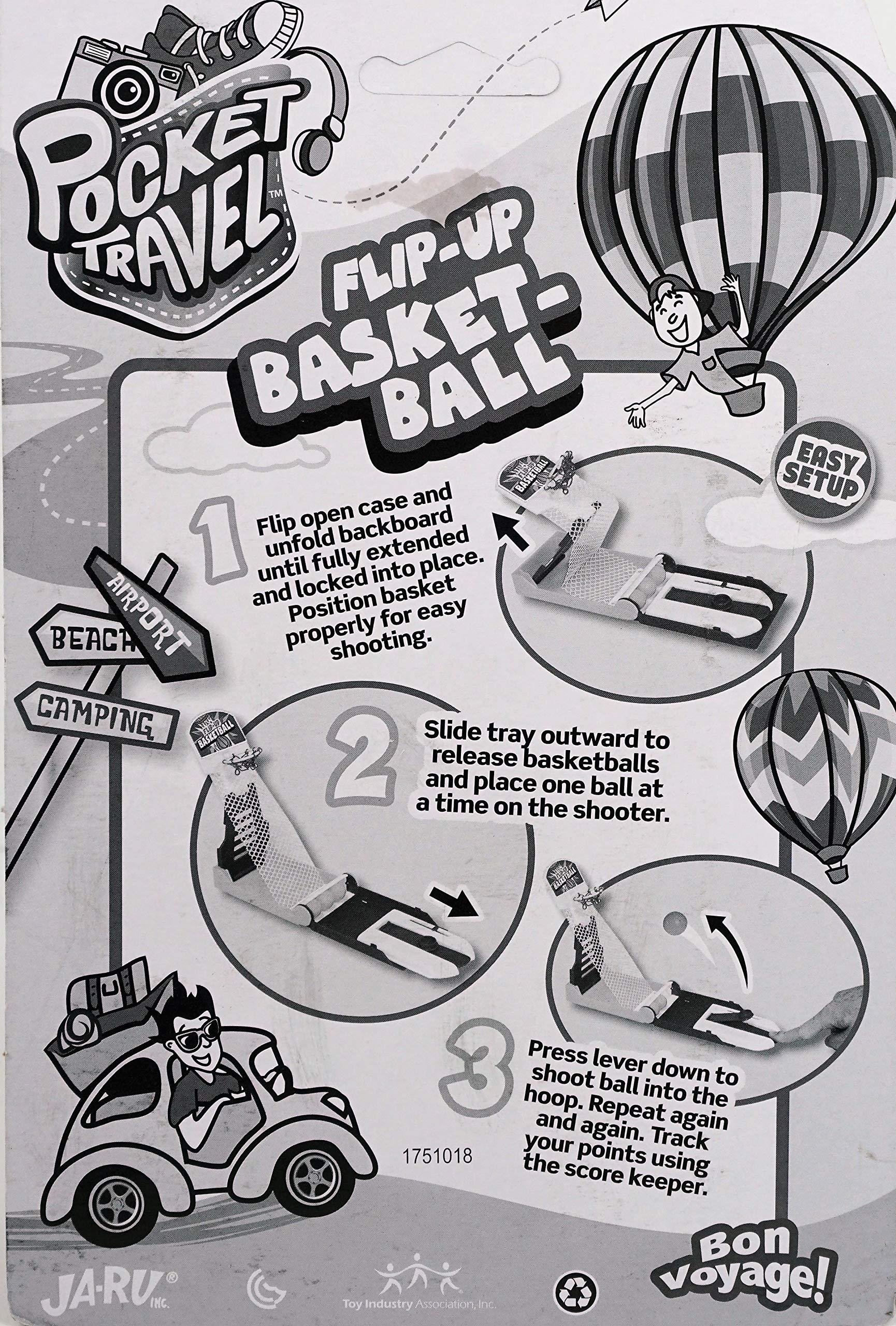 JA-RU Basketball Pocket Travel Game (144 Units) and one Bouncy Ball Item #3255-144p by JA-RU (Image #5)