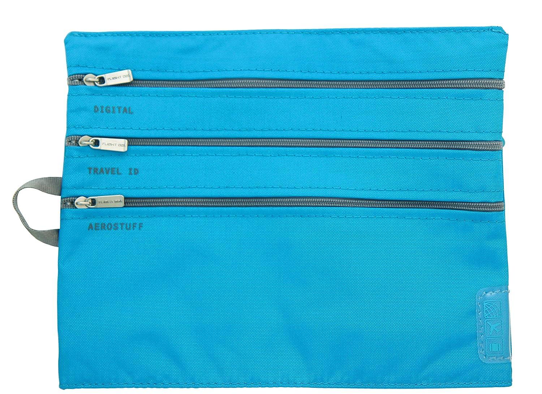 Flight 001 - Seat Pak Airplane Organization 3 Zipper Travel Bag