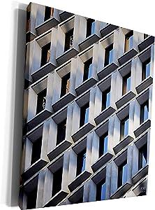 3dRose Kike Calvo New York - New York City buildings, contructions and skyscrappers - Museum Grade Canvas Wrap (cw_10242_1)