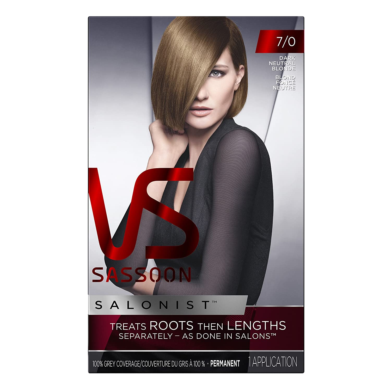 Amazon Vidal Sassoon Salonist Hair Color Permanent Color Kit