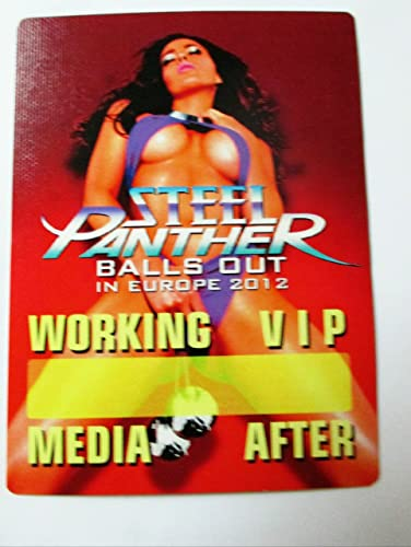 Steel panther balls out think, that