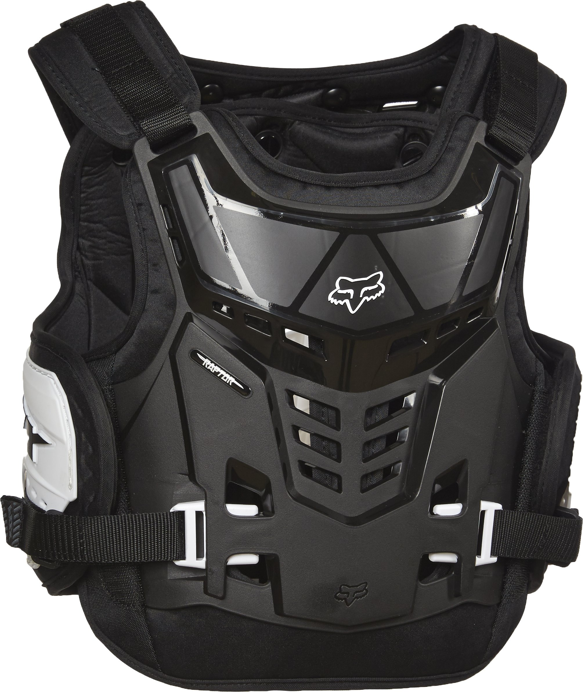 Fox Racing Youth Raptor Proframe LC Protector-Black/White by Fox