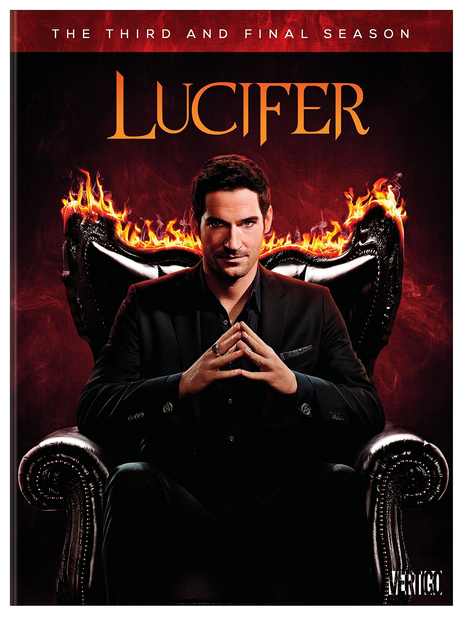 DVD : Lucifer: The Complete Third And Final Season (Boxed Set, Amaray Case, 5PC)