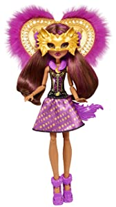 Monster High Ghoul to Wolf Clawdeen Wolf Transformation Doll