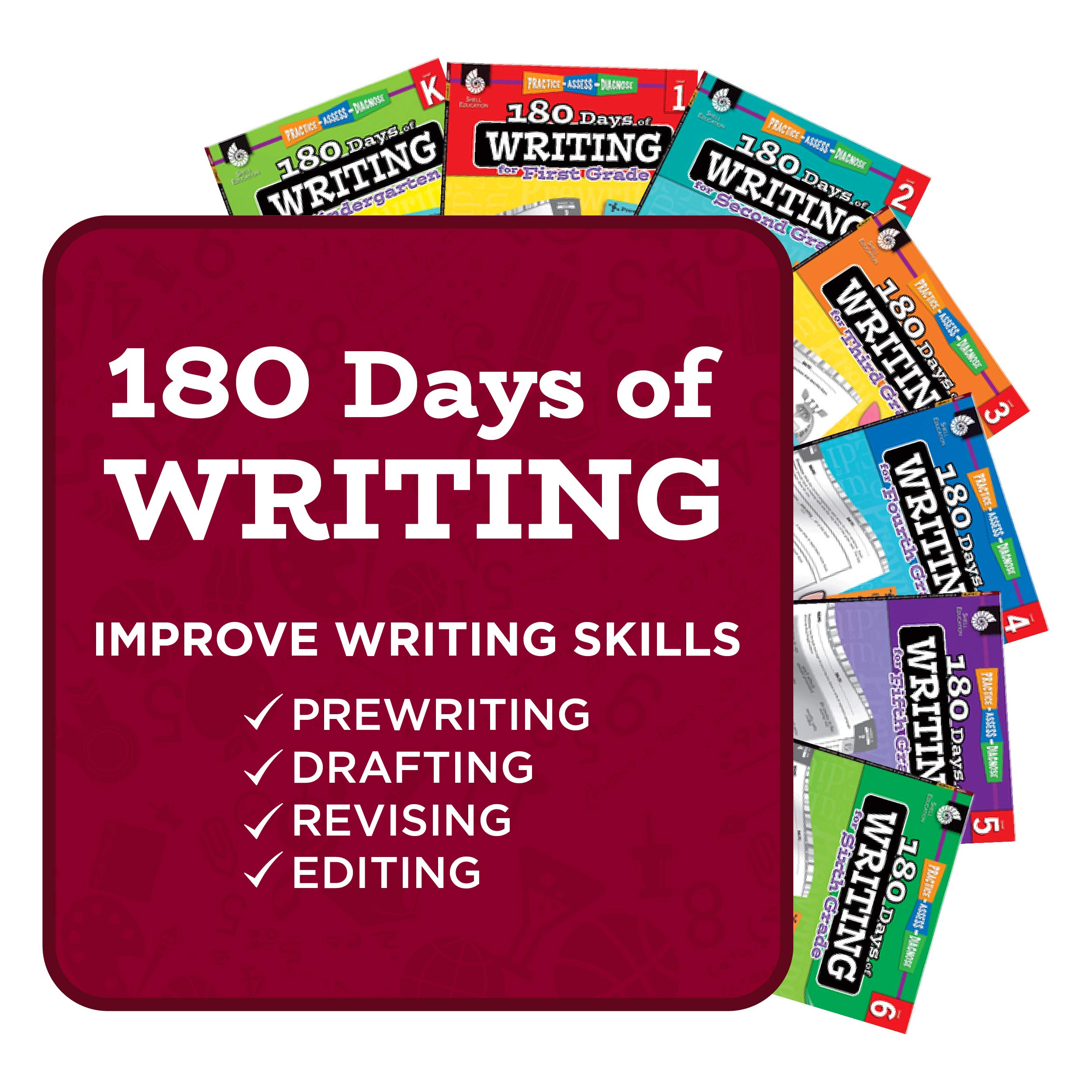 Amazon com: 180 Days of Writing for Second Grade - An Easy
