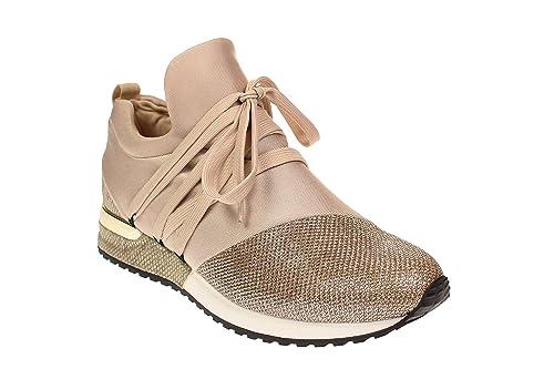 best service 4c91e 4699b La Strada 966453 - Damen Schuhe Freizeitschuhe Sneaker - Gold-Lycra