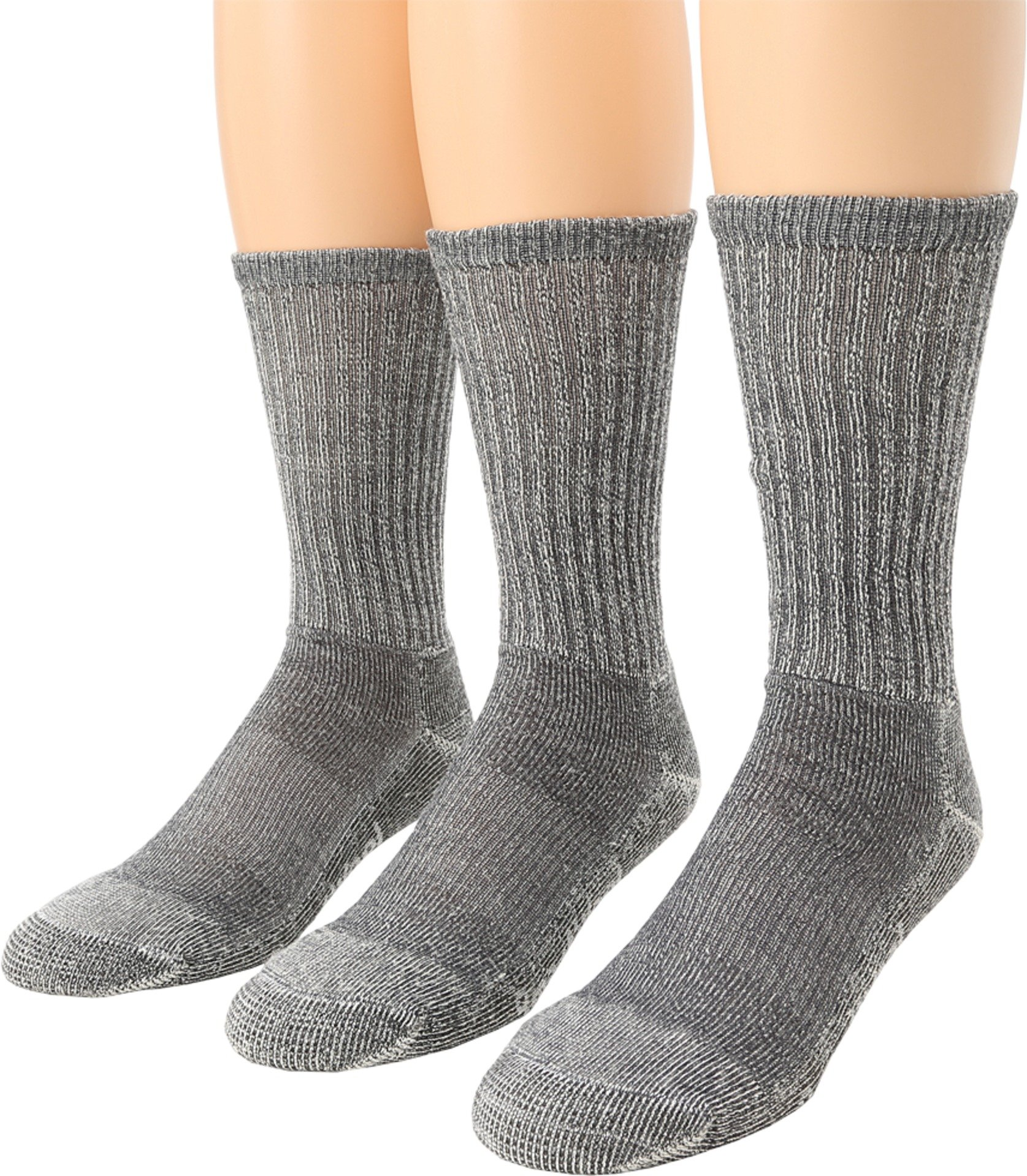 Smartwool Men's Hike Light Crew 3-Pack Gray Medium by SmartWool