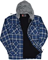 craftland thermohemd mit kapuze holzf llerhemd winterhemd flanell hemd bekleidung. Black Bedroom Furniture Sets. Home Design Ideas