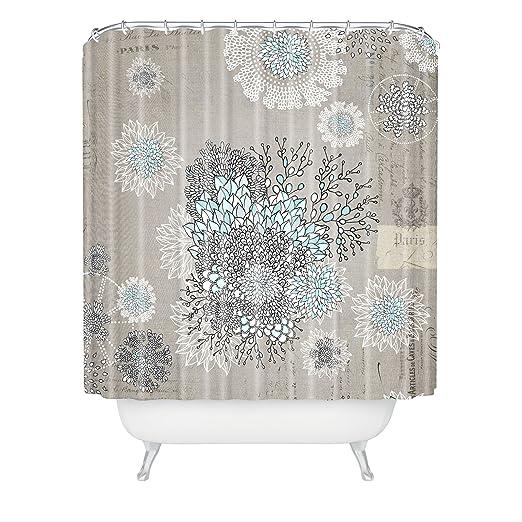 Amazon Deny Designs Iveta Abolina French Blue Shower Curtain 69 X 72 Home Kitchen