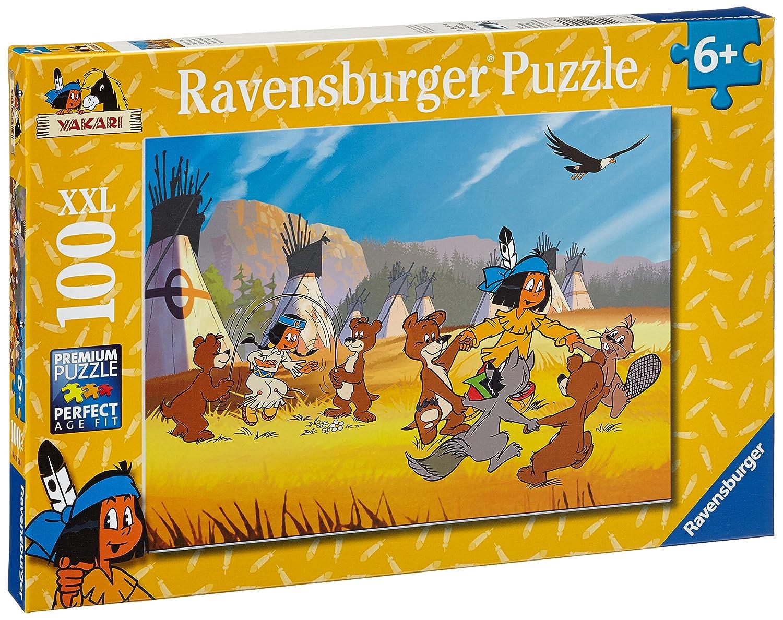 Yakari Puzzles & Geduldspiele der tapfere Indianer 3 x 49 Teile Puzzle Spiel Deutsch 2017