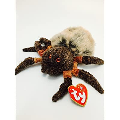Ty Beanie Babies Hairy the Spider: Toys & Games