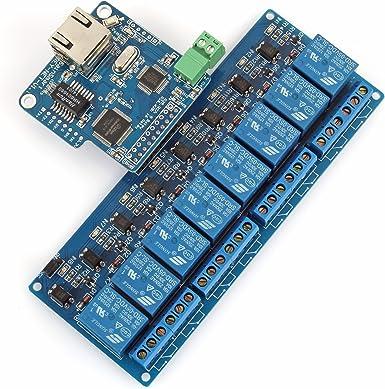 Sainsmart Imatic 8 Kanäle Wifi Netzwerk Io Controller Für Arduino Relais Android Ios Wifi Controller 8 Ch Relais Elektronik